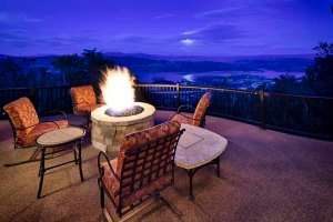 Fire Pit at Gandhara, Deer Valley Resort
