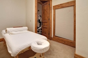 Massage Room at Mountaineer Ranch, Deer Valley Resort