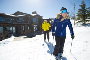 Ski Access to Mountaineer Run, Deer Valley Resort