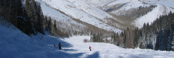 Located 40 minutes from the Salt Lake International Airport, Canyons Resort is an easy weekend ski destination.