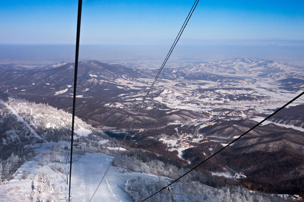 Yabuli is one of 20 Chinese ski resorts nearing Western standards.