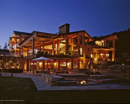 This $65 million Snowmass property is North America's most expensive ski home.