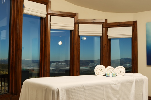 The Ski Dream Home at Deer Valley features its own spa room.