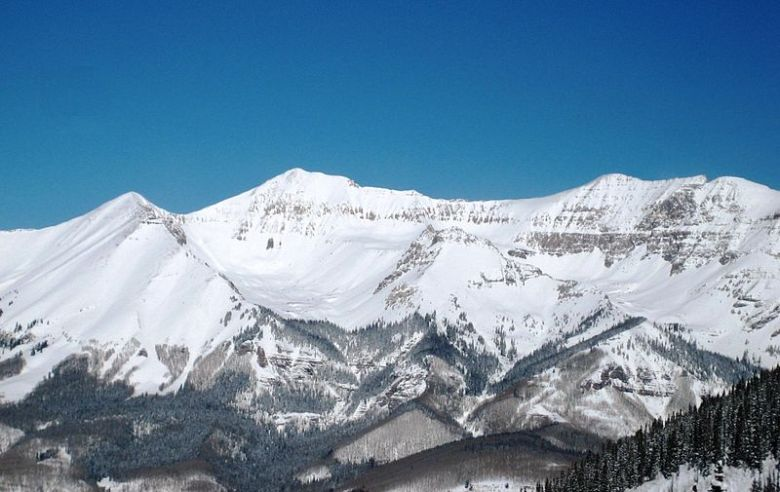 "Telluride Real Estate agent described views of Mountain Village as ""dramatic"" -- won't argue with that."