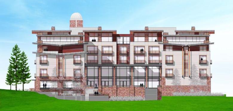 Auberge Resort Sun Valley rendering