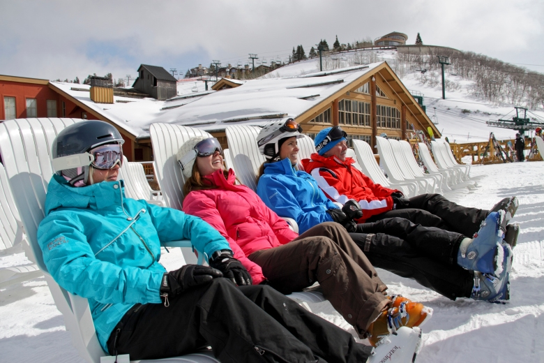 Deer Valley Ski Beach