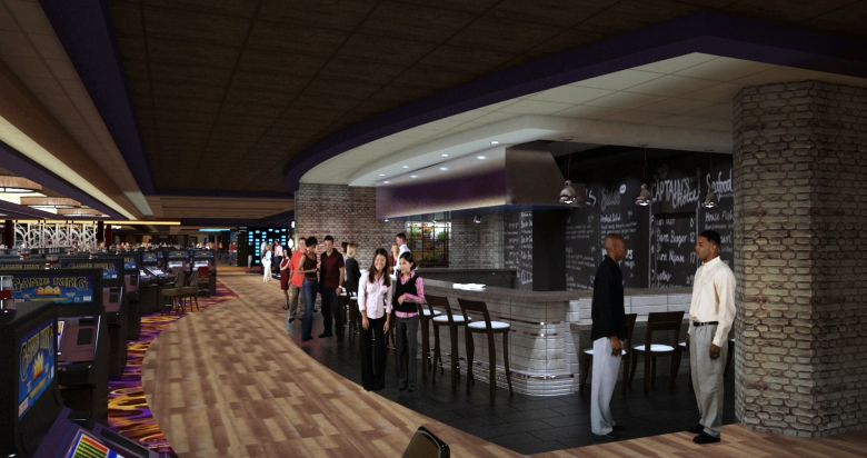 Apres-ski at the Hard Rock Lake Tahoe's Oyster Bar. (Rendering by MBA Architecture & Design.)