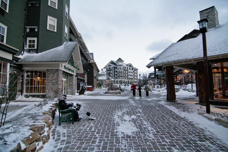 Southern skiing - Village at Snowshoe