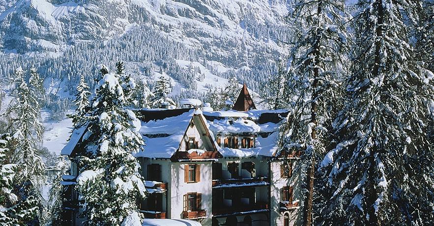 Luxury Ski Hotel - Waldhaus Flims
